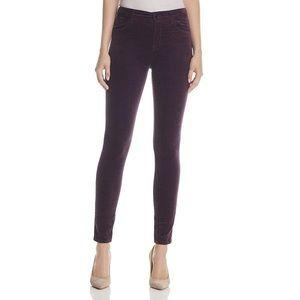 J Brand Maria High Rise Skinny Velvet Jeans 29